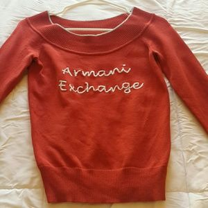 A|X Boatneck Sweater